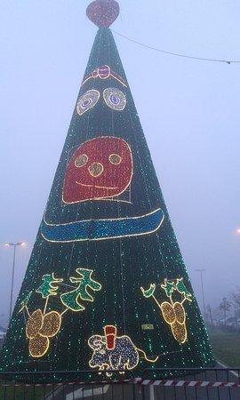 Province of Pavia, Italie : Albero di Natale