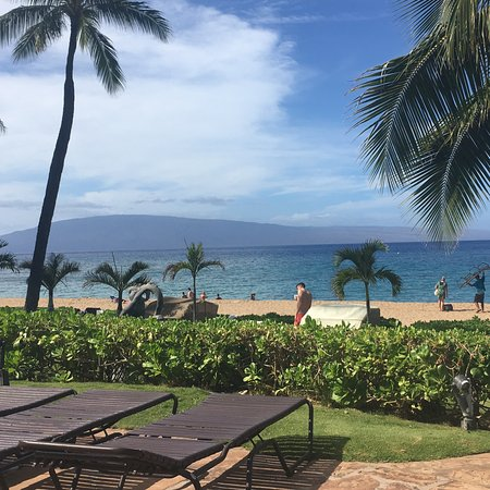 Westin Maui Resort And Spa: View of beach from Pool