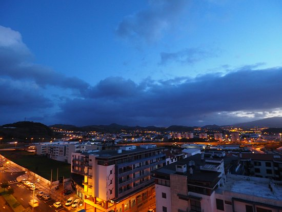 VIP Executive Azores Hotel: view rooftop2