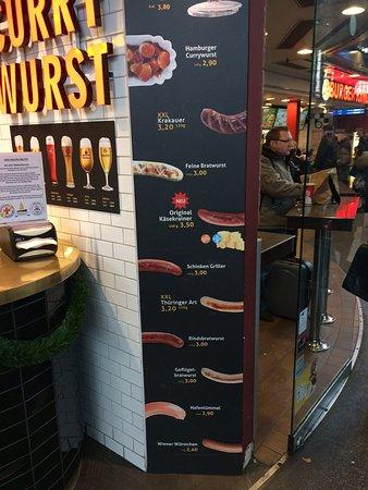 senfbar the menu