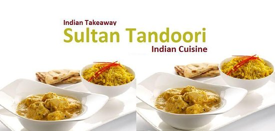 sultan tandoori indian takeaway hmmmm chicken korma naan