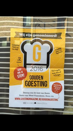 Waregem, Belgium: De nominatie gouden goesting 2016