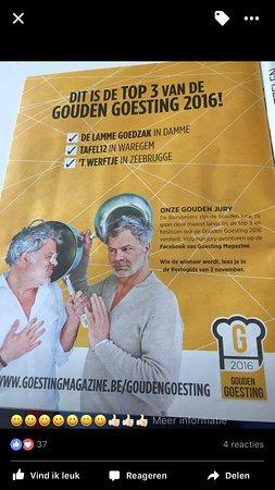 Waregem, Belgium: Top 3 gouden goesting