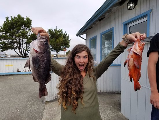 Charleston, OR: Super fun day rock fishing
