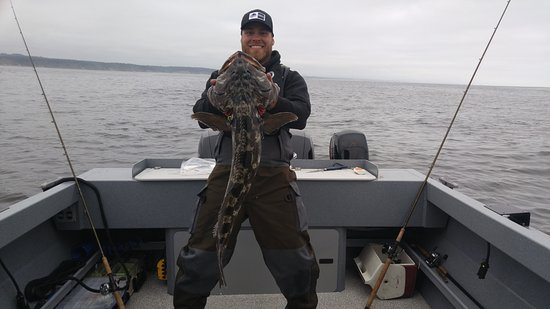 Charleston, OR: Book a deep water lingcod trip.  More than just a normal fishing charter, our deep water trips r