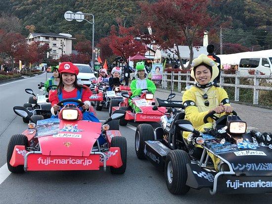 Fuji Mount Real Kart Kawaguchiko