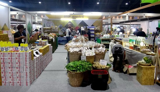 impact muang thong thani local products for sale in the exhibition hall