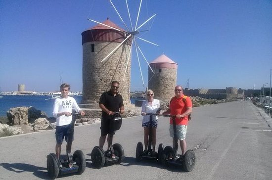 Through The Times Segway Tour in...