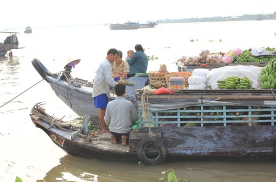 Cai Be Floating Market Day Trip from...