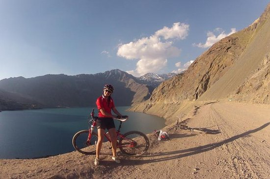 Andes Mountain Bike Tour at Embalse...