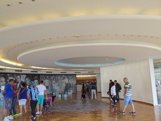 Casa Do Baile: Salón principal de forma circular