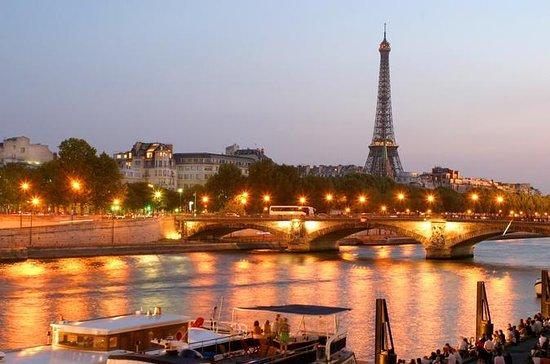 Eiffeltårnet Middag og Seine River...