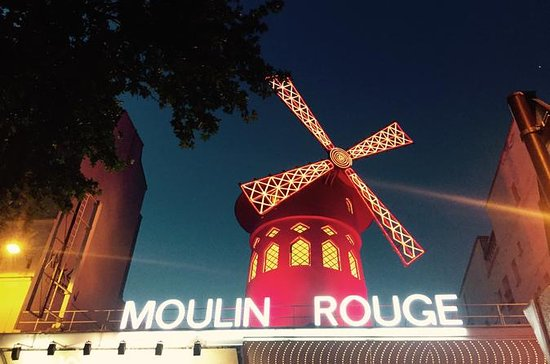 Seine River Dinner Cruise and Moulin...