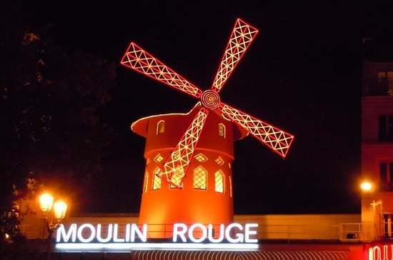 Show no Moulin Rouge com traslados
