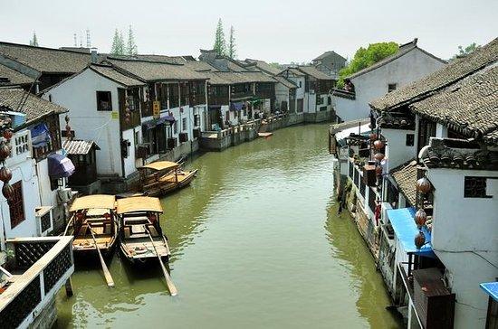 Recorrido desde Shanghái de Zhujiajiao y los Siete tesoros