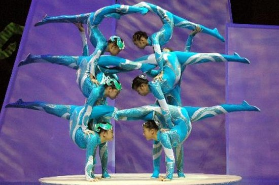Chinese Acrobats and Shanghai Evening...