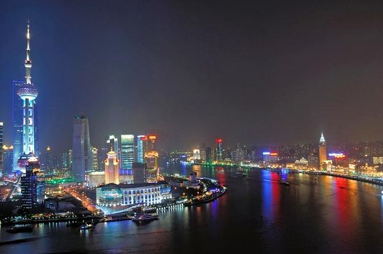 Huangpu River Cruise og Bund City...