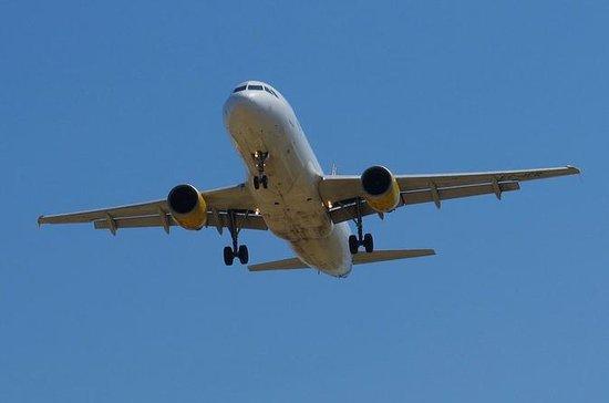 Privétransfer naar de luchthaven van Barcelona