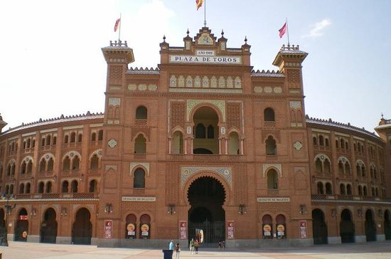 Las Ventas Bullring Entrance Ticket...