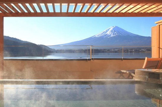 Mt Fuji, Outlet Shopping, and Onsen in One Day from Tokyo