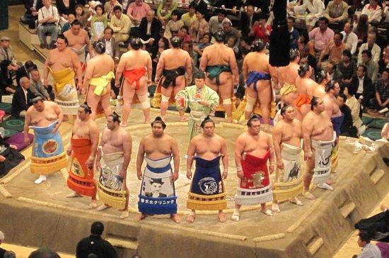 Torneo di sumo a Tokyo
