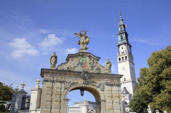 Pieskowa Skala slott og Czestochowa...