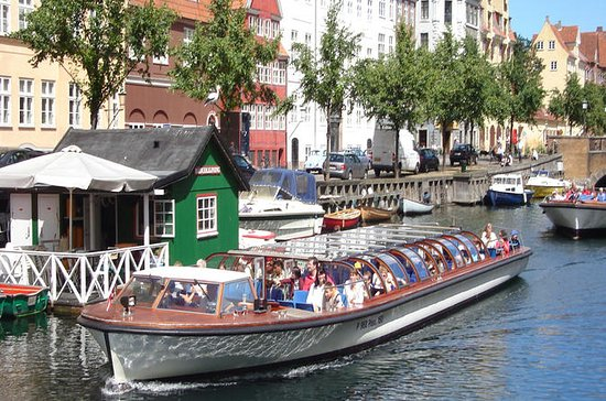 Croisière sur le canal à Copenhague