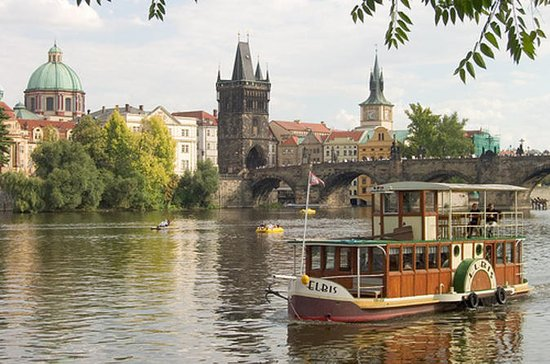 Prague Vltava River Afternoon Tea...