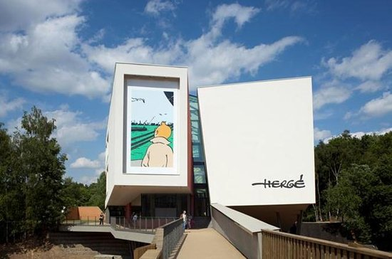 Tintin Comics Tour to Hergé Museum...