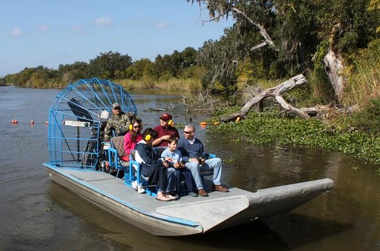 Small-Group Bayou Airboat Ride with