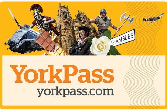 York Pass incluant un circuit en bus...