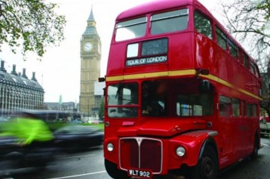 London Bus Tour with Thames River...