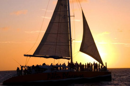 Palm Pleasure Sunset Sail