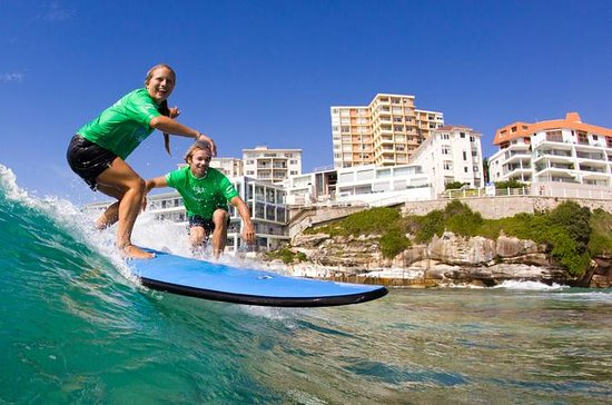 Surfing Lessons on Sydney's Bondi...