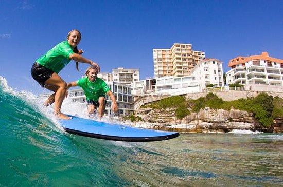 Lezioni di surf a Bondi Beach vicino