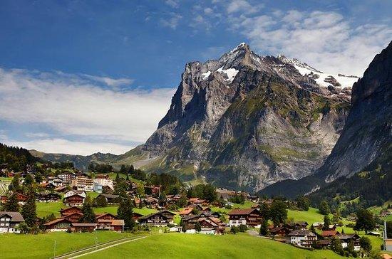 Interlaken Grindelwald in the Bernese...