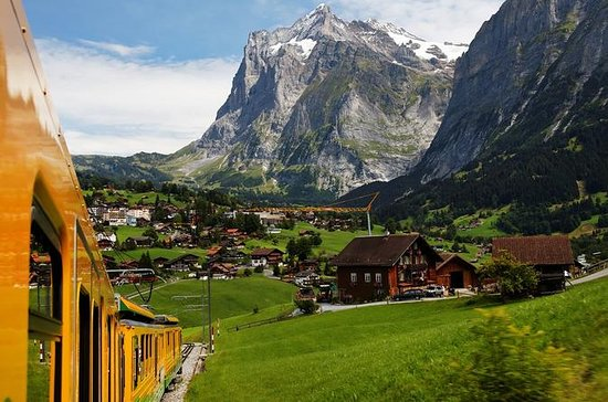 Eiger - Jungfrau Glacier Panorama...