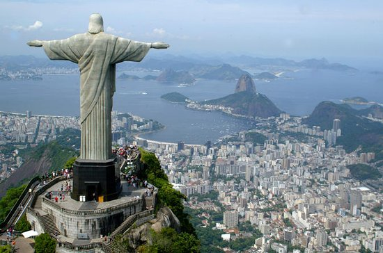 Corcovado Mountain and Christ...