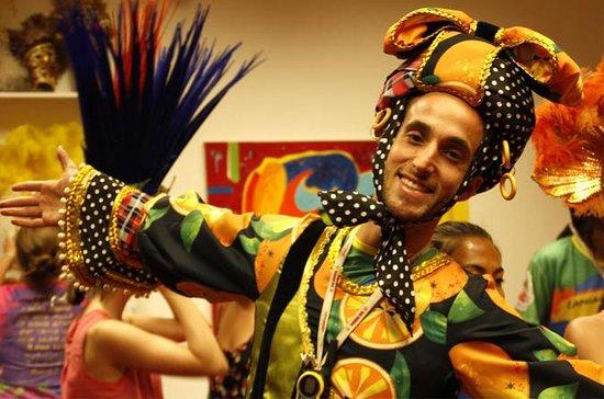 Tour du carnaval de Rio de Janeiro...