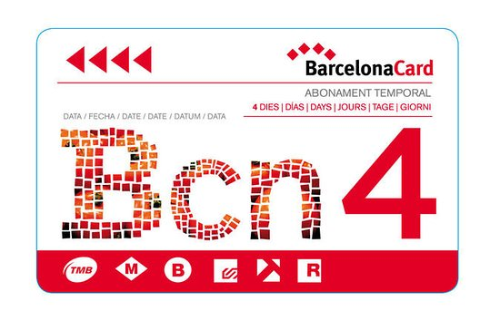 Barcelona City Card med guidebok