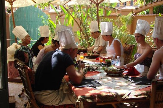 Siem Reap Khmer Cooking Class with Market Visit, Hotel Pickup