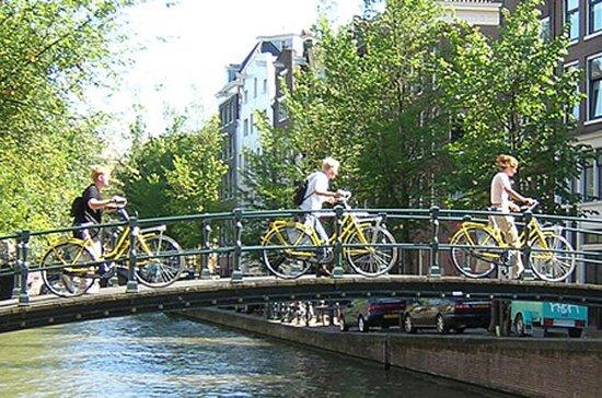 Fahrradtour in kleiner Gruppe durch...
