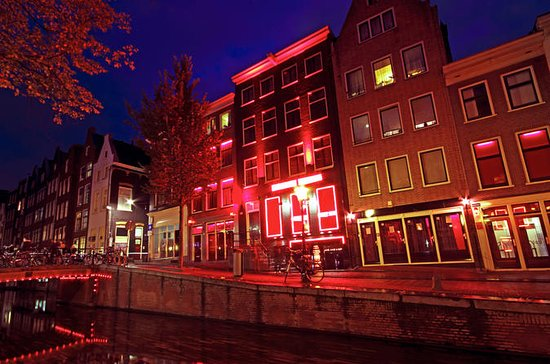 Amsterdam Red Light District Walking...