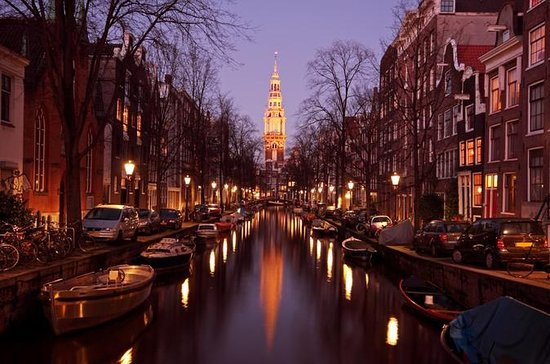 Amsterdam Canal Cruise at Night