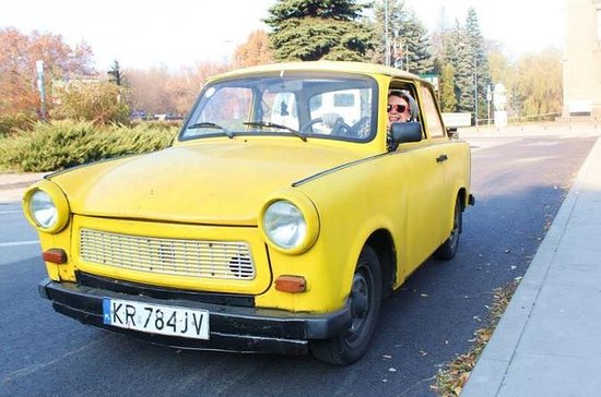 Communism Tour in a Genuine Trabant