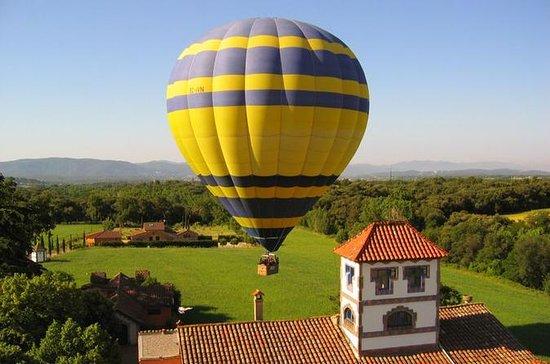Tur med varmluftsballong over...