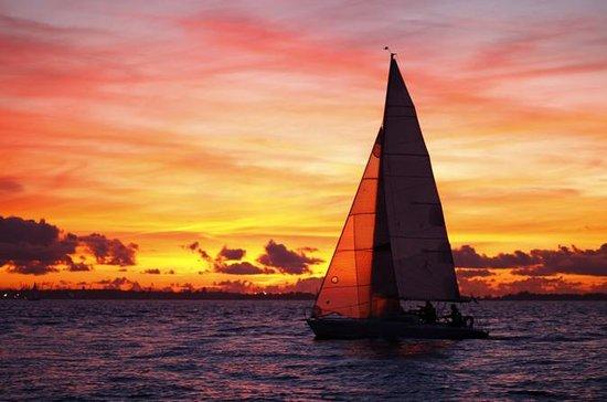 Navegación al atardecer en Bahía de...