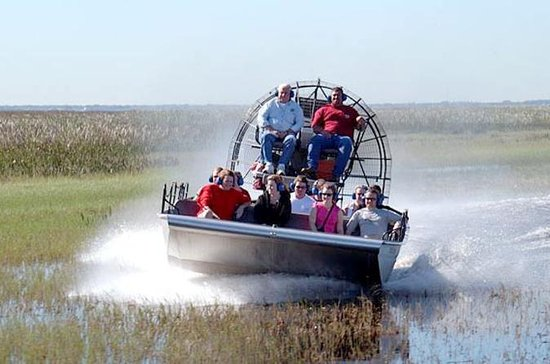 Kennedy Space Center, Everglades Airboat Safari from Orlando