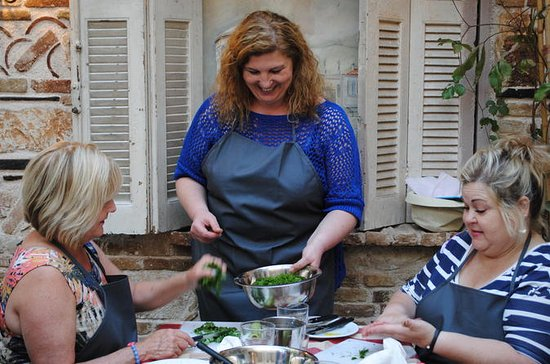 Athens Taverna Small-Group Greek Cooking Class