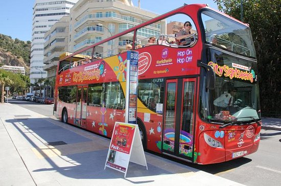 Malaga Hop-On Hop-Off Bus Tour with...